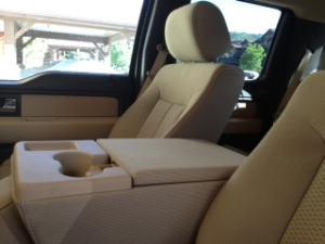 Ford F-150 front seat 2