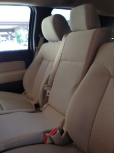 Ford F-150 front seat