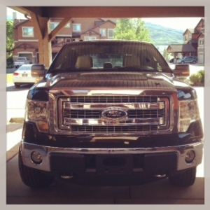 Ford F-150 front