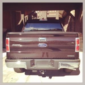 Ford F-150 rear