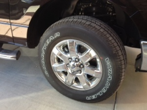 Ford F-150 tire wheel