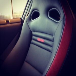 GTR Recaro seat