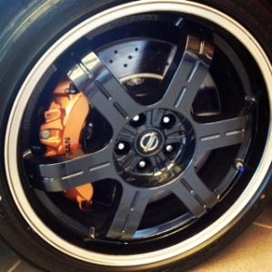 GTR wheel
