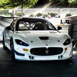 Maserati Trofeo closeup