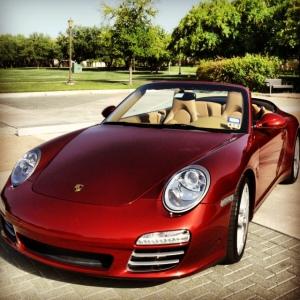 Porsche front 3-4