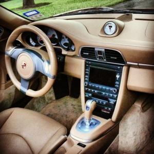 Porsche interior 2