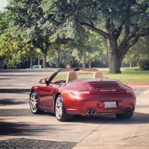 Porsche rear 3-4