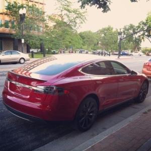 Tesla rear 3-4