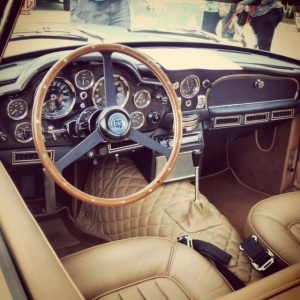 AM DB6 interior