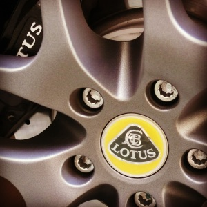 Lotus Evora wheel