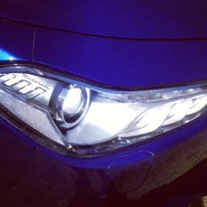 Maserati Ghibli headlight