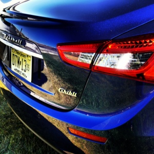 Maserati Ghibli rear 2