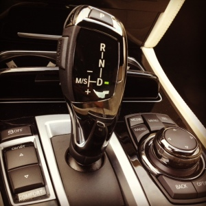 BMW 760 shifter