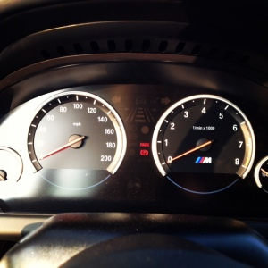 BMW M gauges