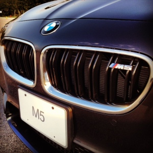 BMW M5 grille