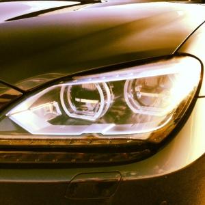 BMW M6 headlight