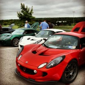 Lotus Elise car show