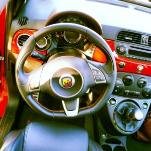 Abarth interior top