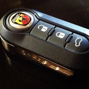 Abarth key