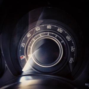 Abarth speedometer