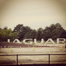 Jaguar driving event