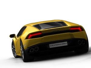 Huracan rear