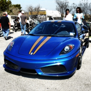 Ferrari blue