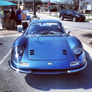 Ferrari Dino front