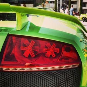 Lambo Murcie taillight