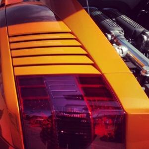 Lambo taillight detail