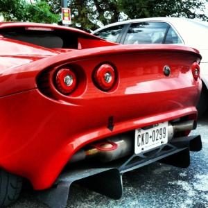 Lotus Elise red 2