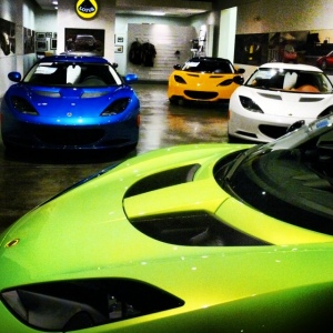 Lotus showroom 2