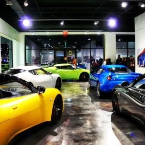 Lotus showroom