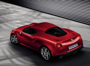 Alfa 4C rear