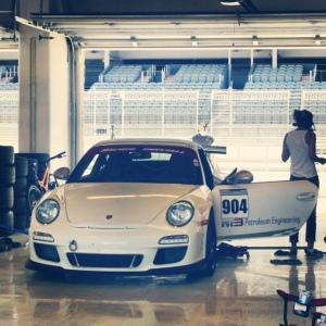 PCA garage white