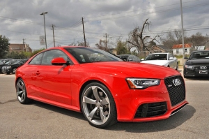 Audi RS5 red