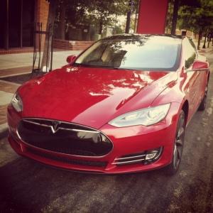 Tesla front 3-4