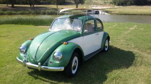 VW Beetle beach cruiser